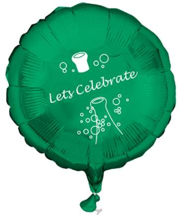 Custom Imprinted Mylar Balloons, Heart, Promotional, Printed