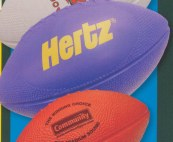 imported foam footballs