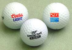 imprinted golf balls