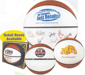 signature basketballs