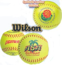 custom imprinted softballs