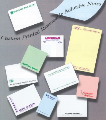 Adhesive Notepads Paper Colors