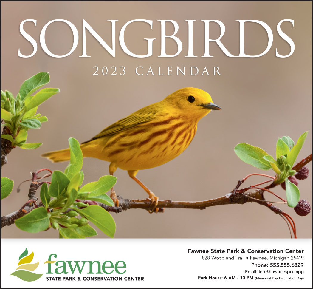 songbirds calendars