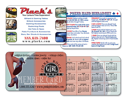 Promotional laminated wallet cards wallet calendar cards enlarge image laminated wallet card reheart Image collections